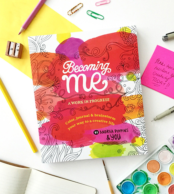 Becoming Me book cover on desk