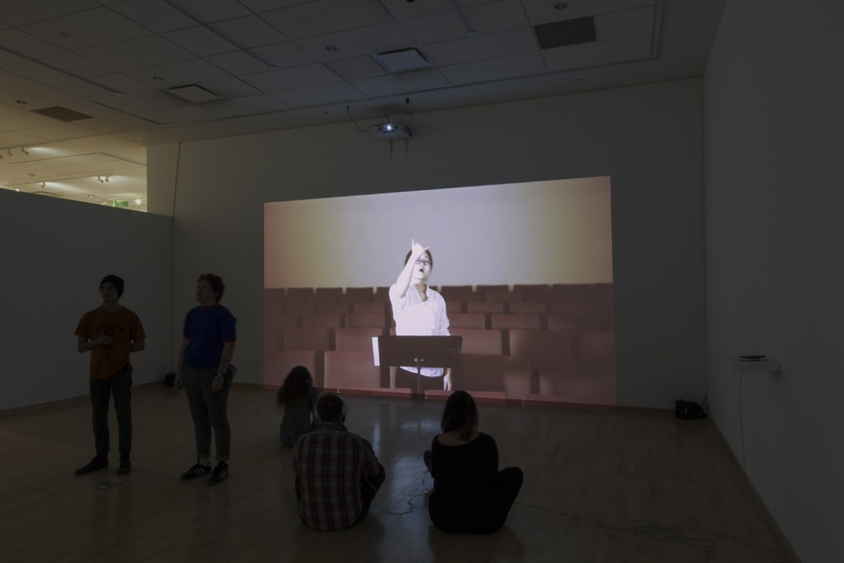 Video of a performance by Yixuan Pan, Tyler Glass MFA '17