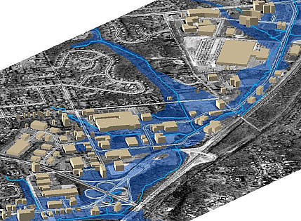 Fort Washington Map.Fort Washington Office Park Flood Study Tyler School Of Art