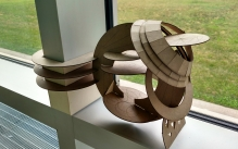 Photo of a laser cut project.