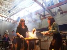 Jessica Jane Julius and Emma Salamon performance
