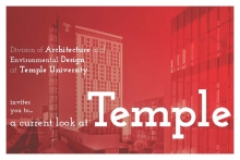 A Current Look at Temple invitation