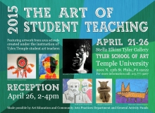 Art of Student Teaching Flyer