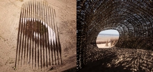 """Wish"" by Jorge Rodriguez Gerada and ""Sand Worm"" by Marco Casagrande"