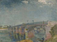 Vincent van Gogh, The Bridge at Asnières, summer 1887