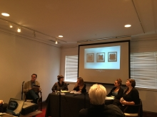 Tyler Glass Faculty at their panel discussion led by Dan Clayman!