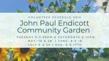 Endicott community garden flyer