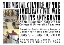 poster for NEH Summer Institute