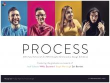 Process: 2015 MFA Graphic & Interactive Design Exhibition