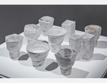 Jordan McDonald's white ceramic cups