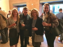 Elizabeth Dunteman, Tracy Cooper, Jasmine Cloud, and Bethany Farrell at the RSA meeting