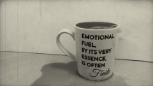 Emotional Fuel, by its very essence is often finite.