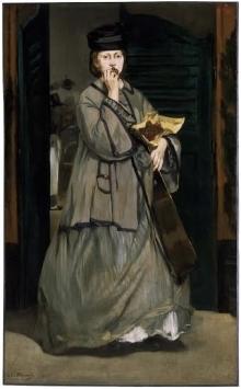 Édouard Manet, Street Singer, 1862