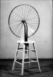 Marcel Duchamp, Bicycle Wheel, 1951