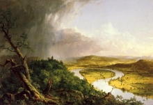 Thomas Cole, View from Mount Holyoke, 1836
