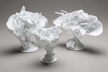 Amber Cowan, hot sculpted glass
