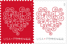 Forever Love Stamp Design by Jessica Hische