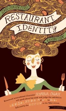 Gaid Restaurant Identity poster
