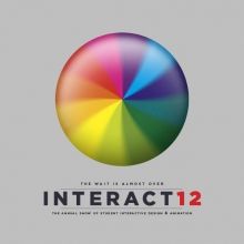 Interact 12 Exhibition Poster