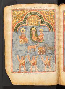 NAtivity, Metropolitan Museum Gospels 15th century