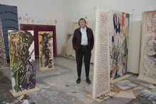 Dona Nelson portrait in studio