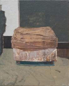 Jennifer Packer Ottoman Oilcanvas