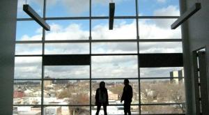 Window View at Tyler School of Art