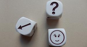 photo of deciding dice