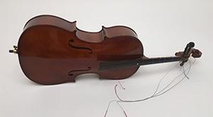 broken cello