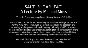 Michael Moss: Salt Sugar Fat