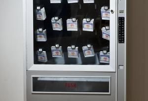Vending Machine selling US Social Security Cards - Maria Albornoz