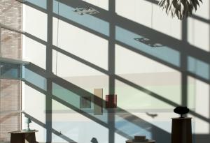 Atrium Installation of Ceramic Objects
