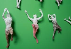 ceramic figures by Corinne Hansen