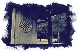 Student work by Terrance James, Meiji Cyanotype
