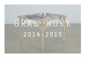Grad Work: 2014-2015