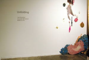Unfolding - MFA Graduate Fibers Exhibition