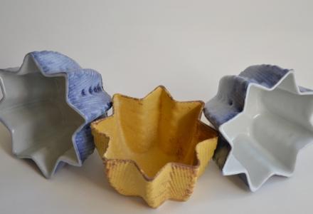 student-made ceramics project