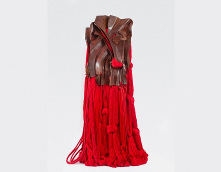 All That Rises Must Converge / Red by Barbara Chase-Riboud