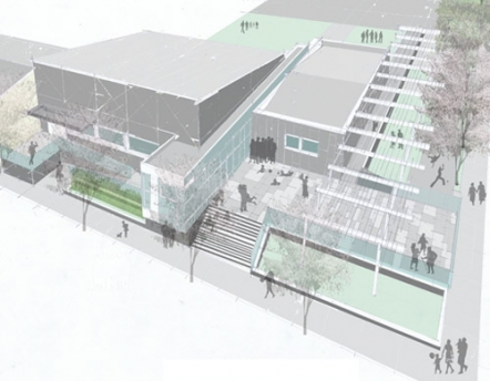 rendering of the Mount Hope Mission Center