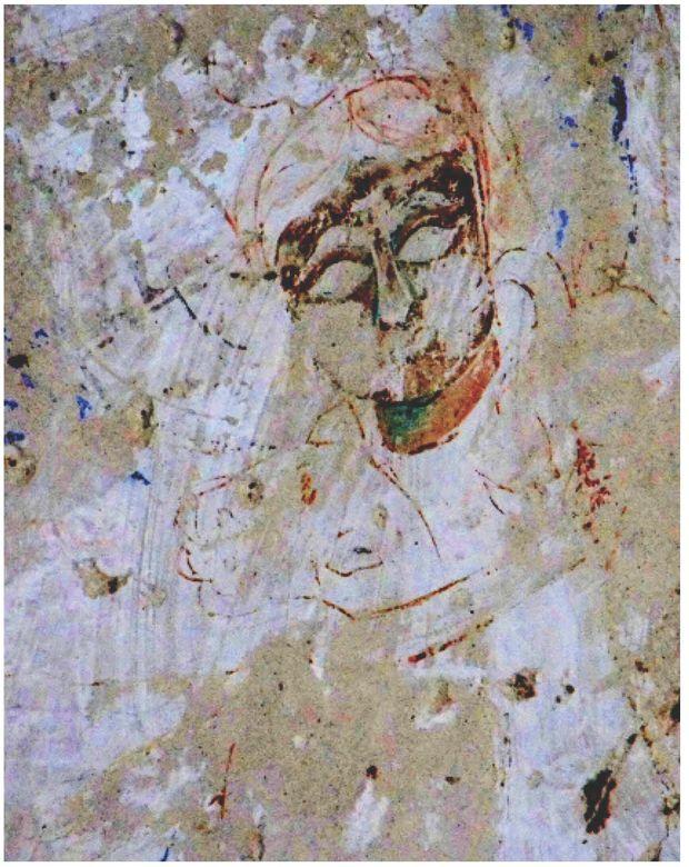 detail of fresco at Ani courtesy of Christina Maranci