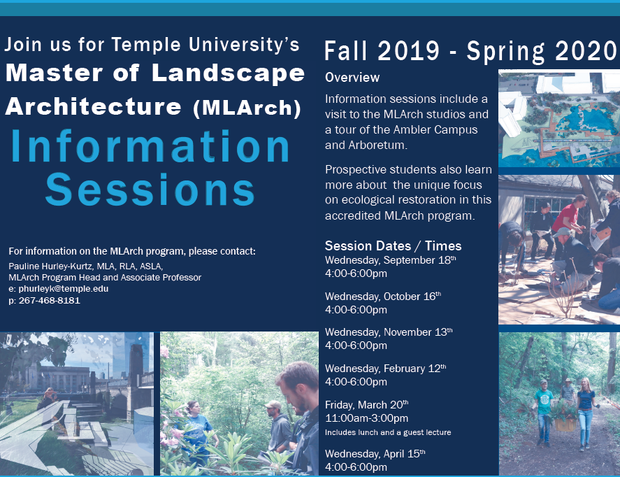 information session poster