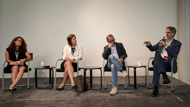 Panel at Facades+ Conference