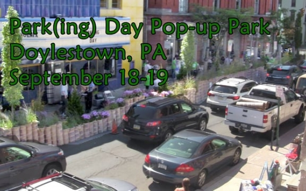 park ing for people park ing day pop up park temple