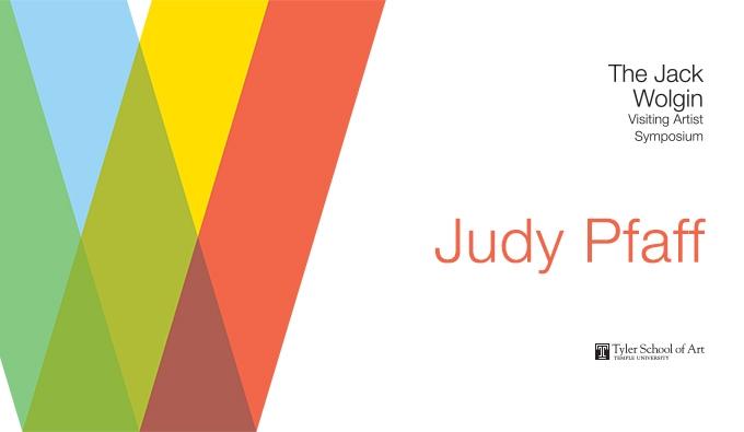Judy Pfaff Poster