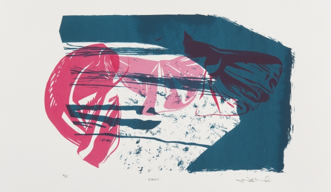 screen print by Jamie Forslund