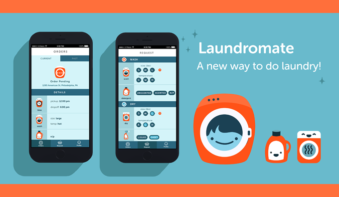 Laundromate App Graphic