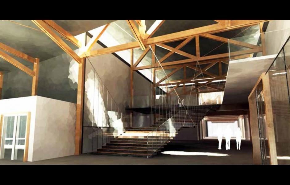 Digital Rendering. Interior Rendering. Alex Aftuck. ARCH 8013 :  COMPREHENSIVE ARCHITECTURAL DESIGN STUDIO ...