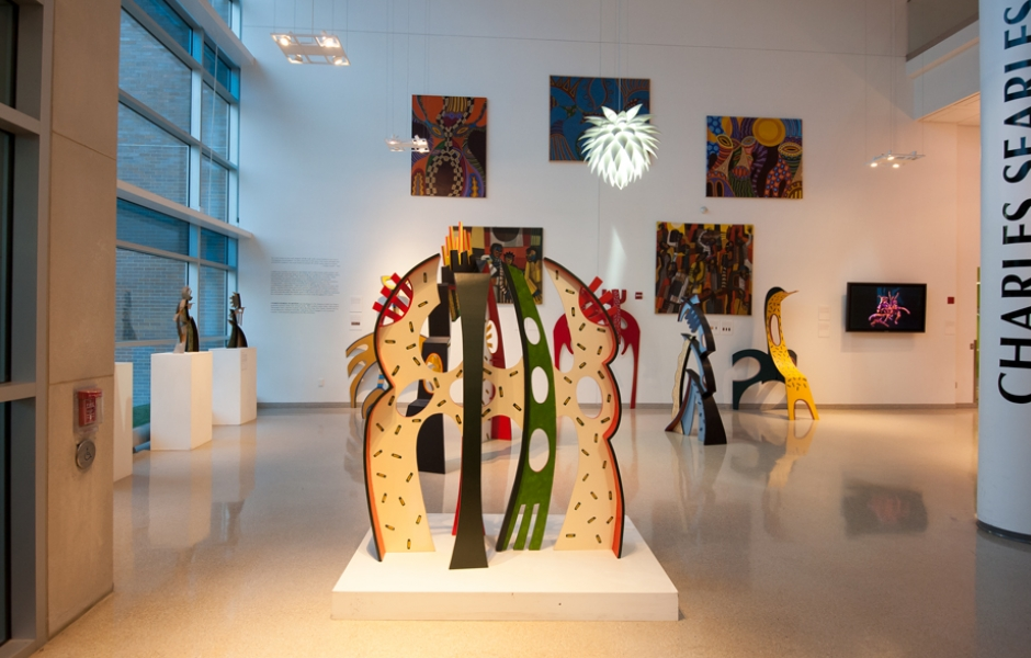 Charles Searles exhibition