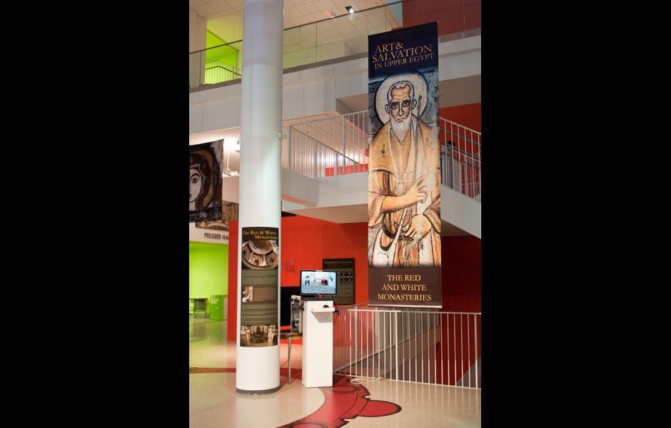 Art and Salvation Exhibition Banner