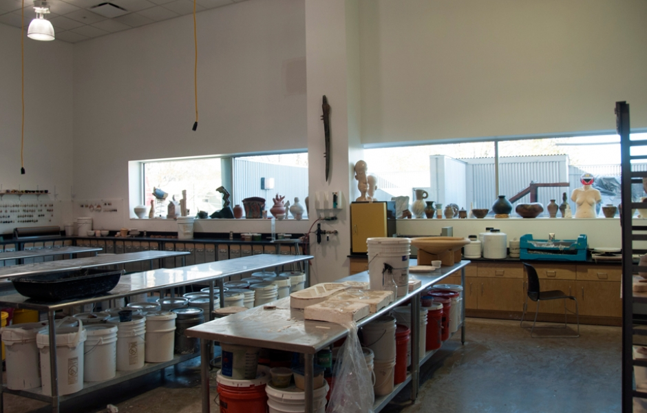 Ceramic Majors studio